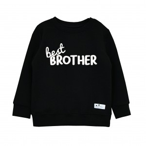 Bluza Best Brother czarna