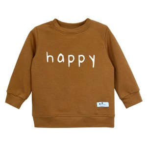 Bluza Happy karmelowa